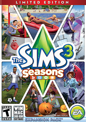 Free Download The Sims 3: Seasons PC Game Expansion Full Version Cover