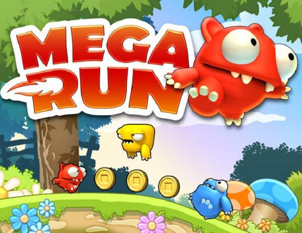 Mega Run descarga gratis este juego de habilidad para iPhone