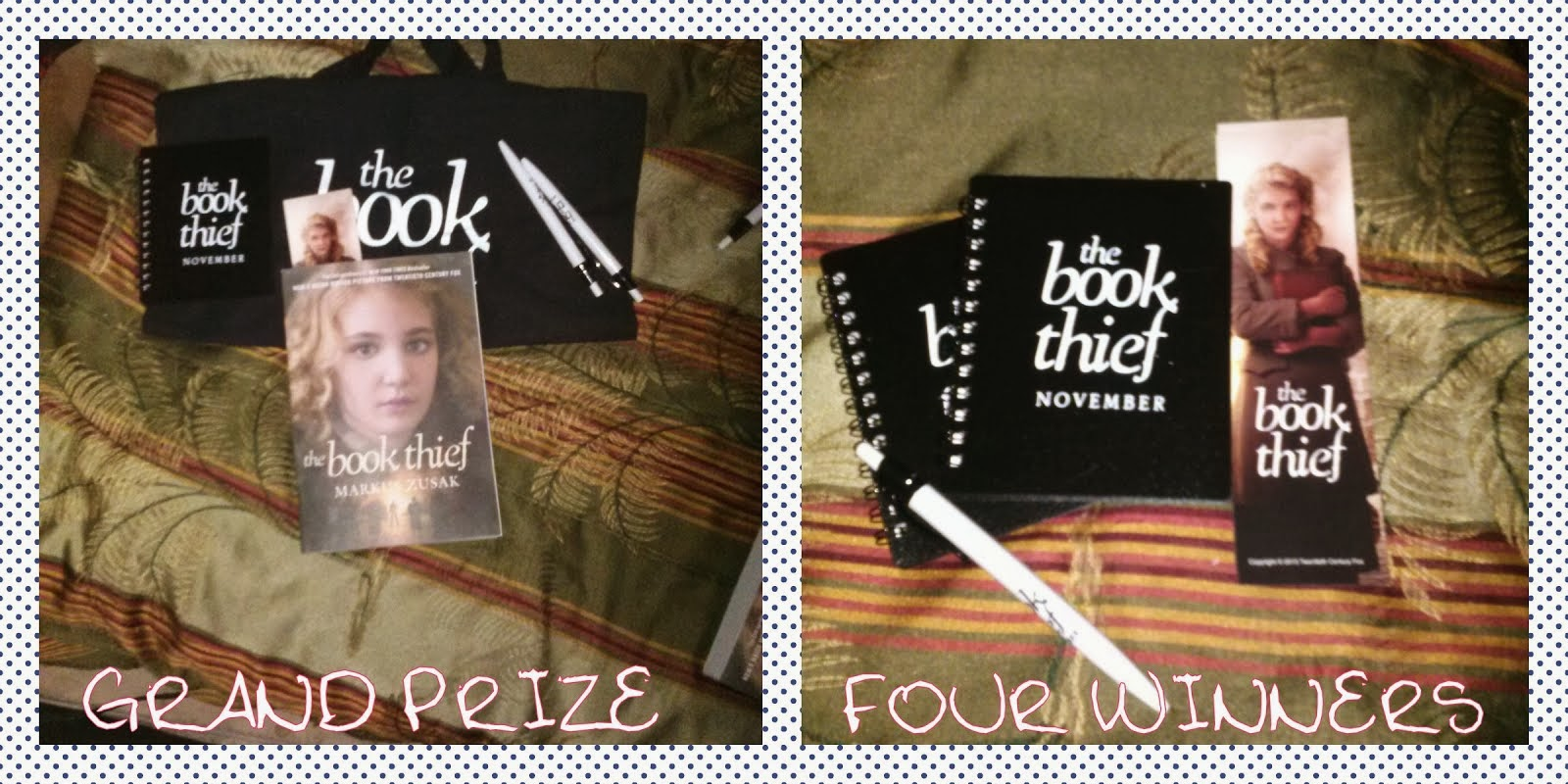 Book Thief Swag Pack