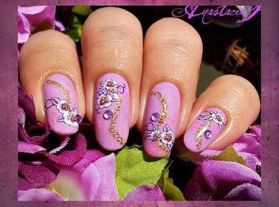 Diseño de Uñas Color Rosa Suave