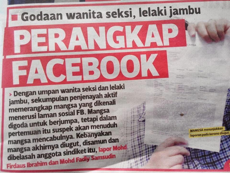 perangkap facebook