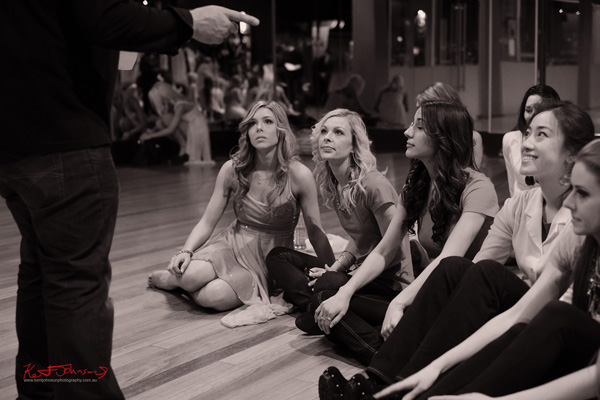 Preparing for the talent competition with Jenna, Audrey Tan, Emily Booth, Miss Earth Australia - Behind The Scenes 2012