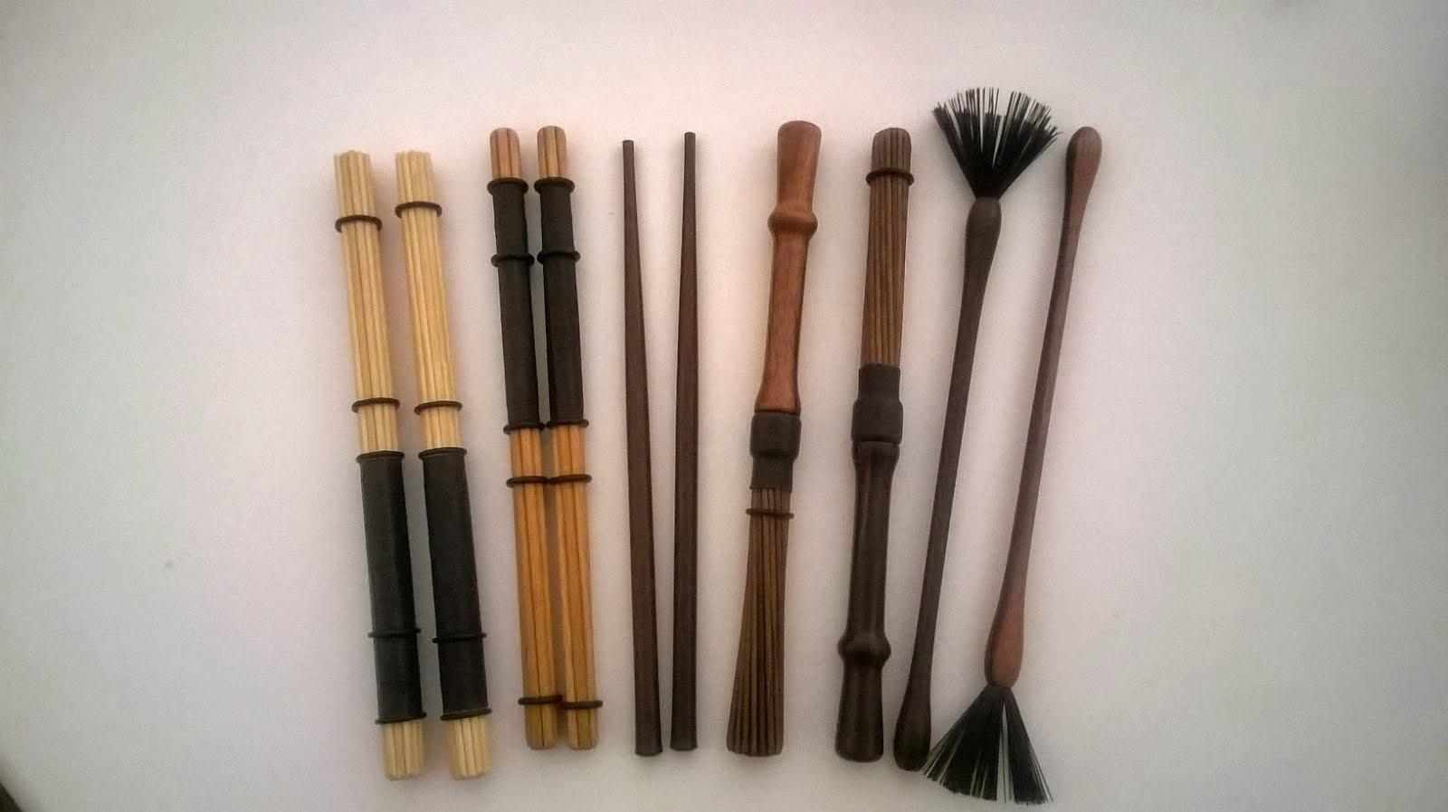 """Una muestra de sticks """"Moises"""""""