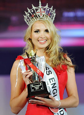 Miss England 2011 Alize Lily Mounter