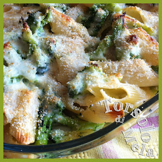 sformato di broccoli siciliani e besciamella allo stracchino