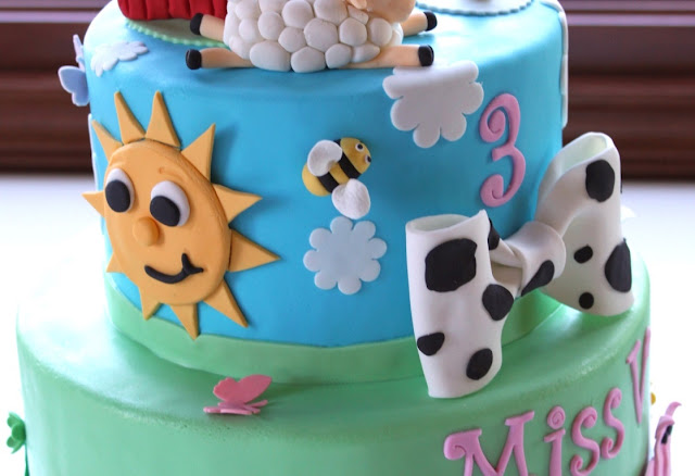 Barnyard Birthday Cake Twin Cities