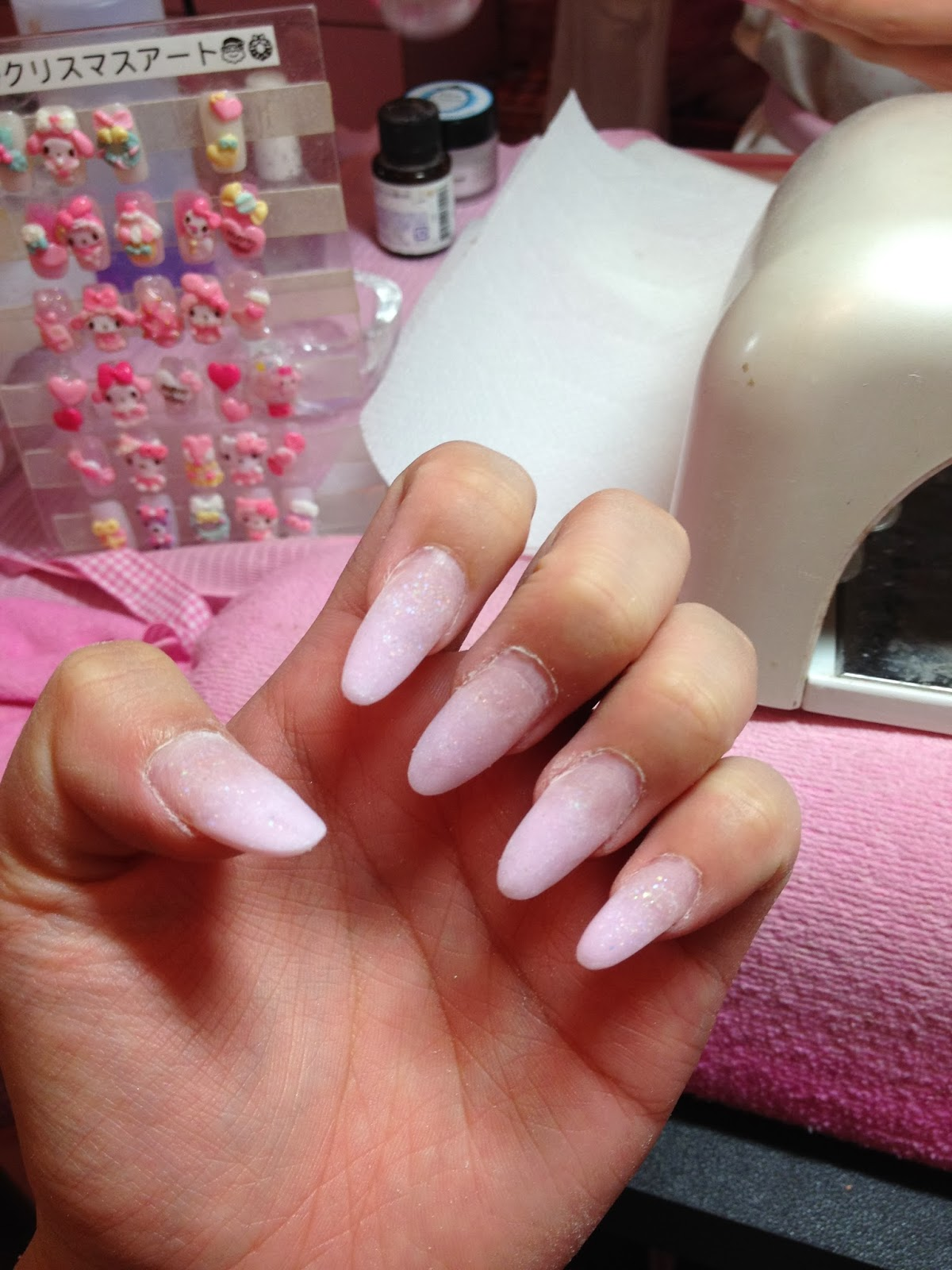 Even If You Have Short Nails They Can Use Putty To Give Nail Extensions These Are Medium Length The More Area Art