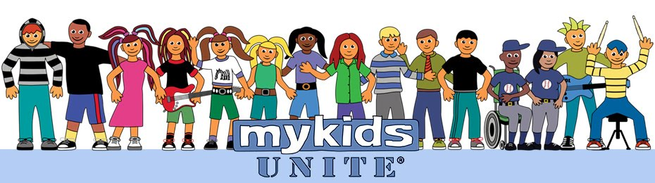 MyKids Unite© Celebrate Friendships for All, Kindness to Animals and A Healthy Planet