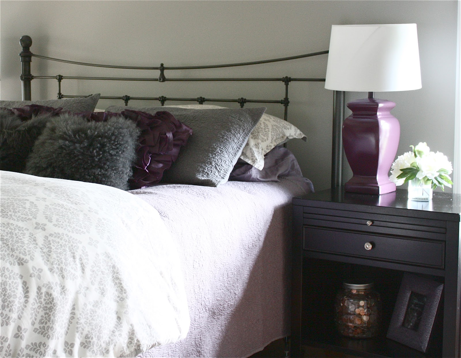 Dramatic Master Bedroom Makeover~Before And After