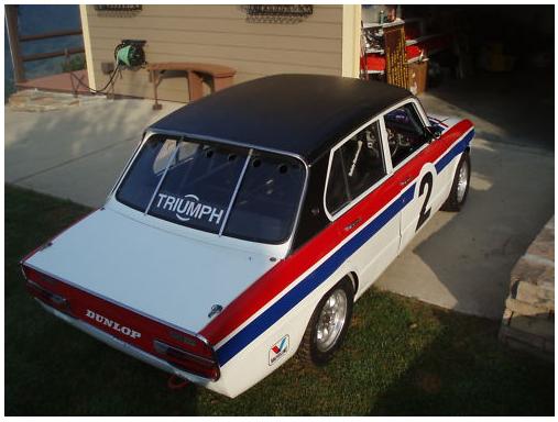 1973 triumph dolomite sprint race car groosh 39 s garage for Garage sprint auto stains