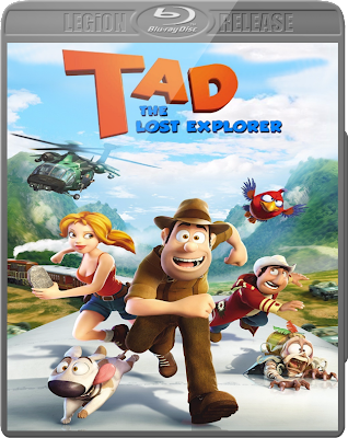 Free Download Poster of movie Tad The Lost Explorer(2013) DVD RIP XVID in Dual Audio Hindi-English.