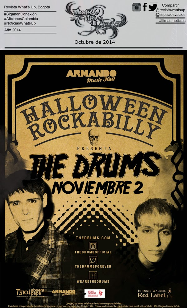 The-Drums-regresa-Armando-Records