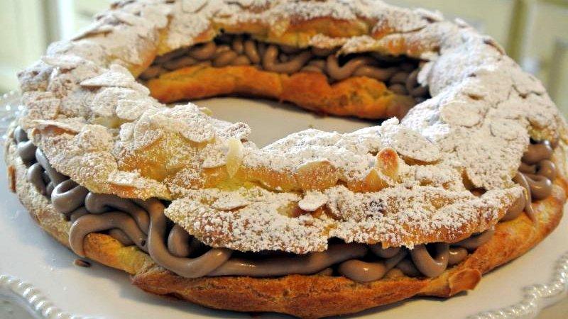 Торт Париж-Брест - Французские десерты - Эксклюзивные торты - Необычные торты - Десерты - Ресторан дома