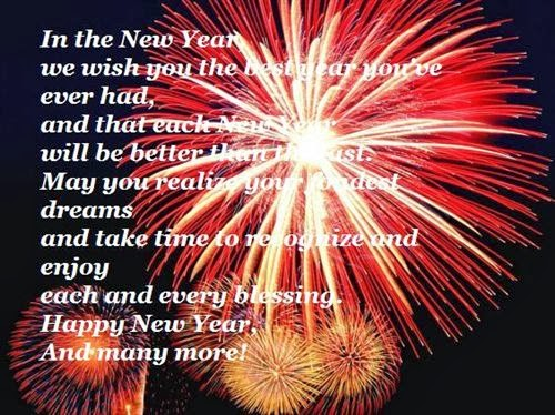 Funny Happy New Year Poems For Friends 2014
