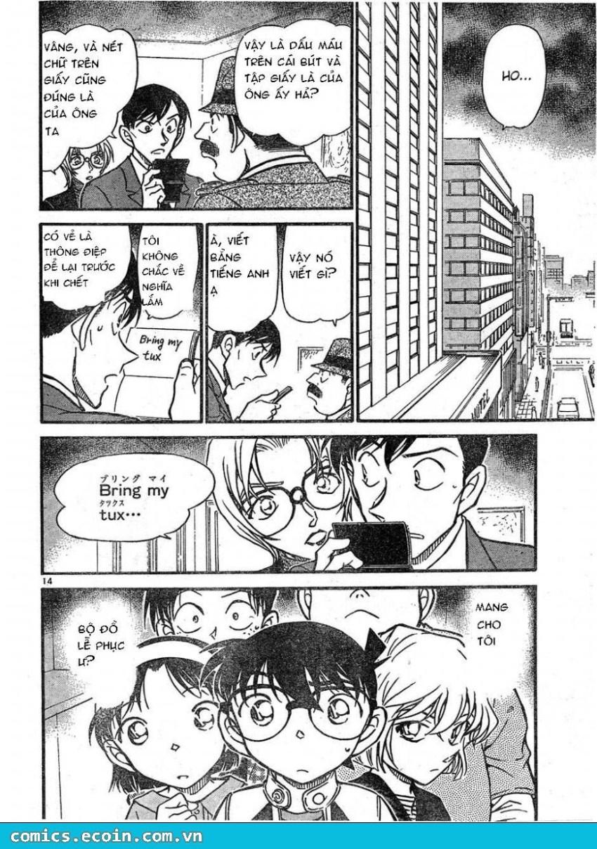 Detective Conan - Thám Tử Lừng Danh Conan chap 606 page 14 - IZTruyenTranh.com