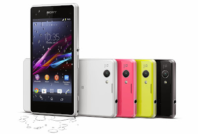 Xperia Z1 Compact hits China but in Z1 Colorful Edition