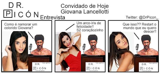 Dr Pic N Entrevista Giovana Lancellotti Sobre Namoro Pe Lanza