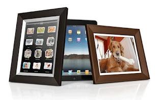 acessório Quadro Digital iPad