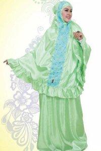 Mukena Dewasa Tatuis Allura 029 - Hijau (Toko Jilbab dan Busana Muslimah Terbaru)