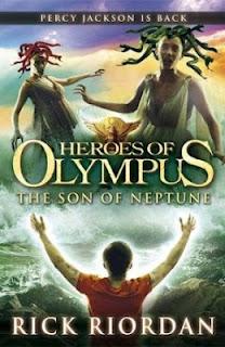 Le fils de Neptune, Rick Riordan, the son of neptune, heroes of olympus, percy jackson