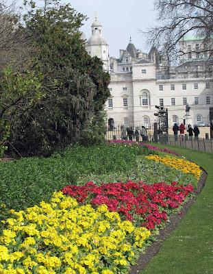 Spring appeared to have sprung in St James' Park
