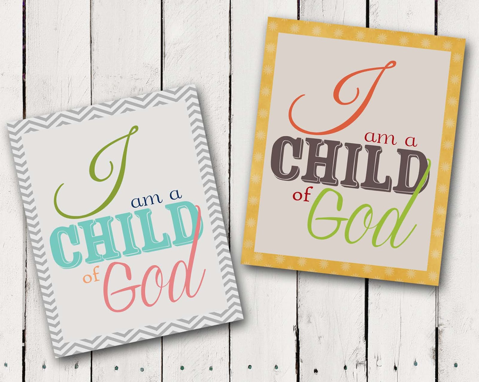 ... .etsy.com/listing/111897394/i-am-a-child-of-god-lds-art-2013-primary
