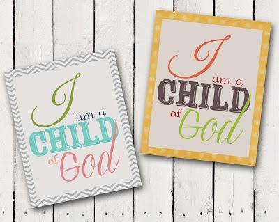 ... .etsy.com/listing/111897394/i-am-a-child-of-god-lds-art-2013-primary