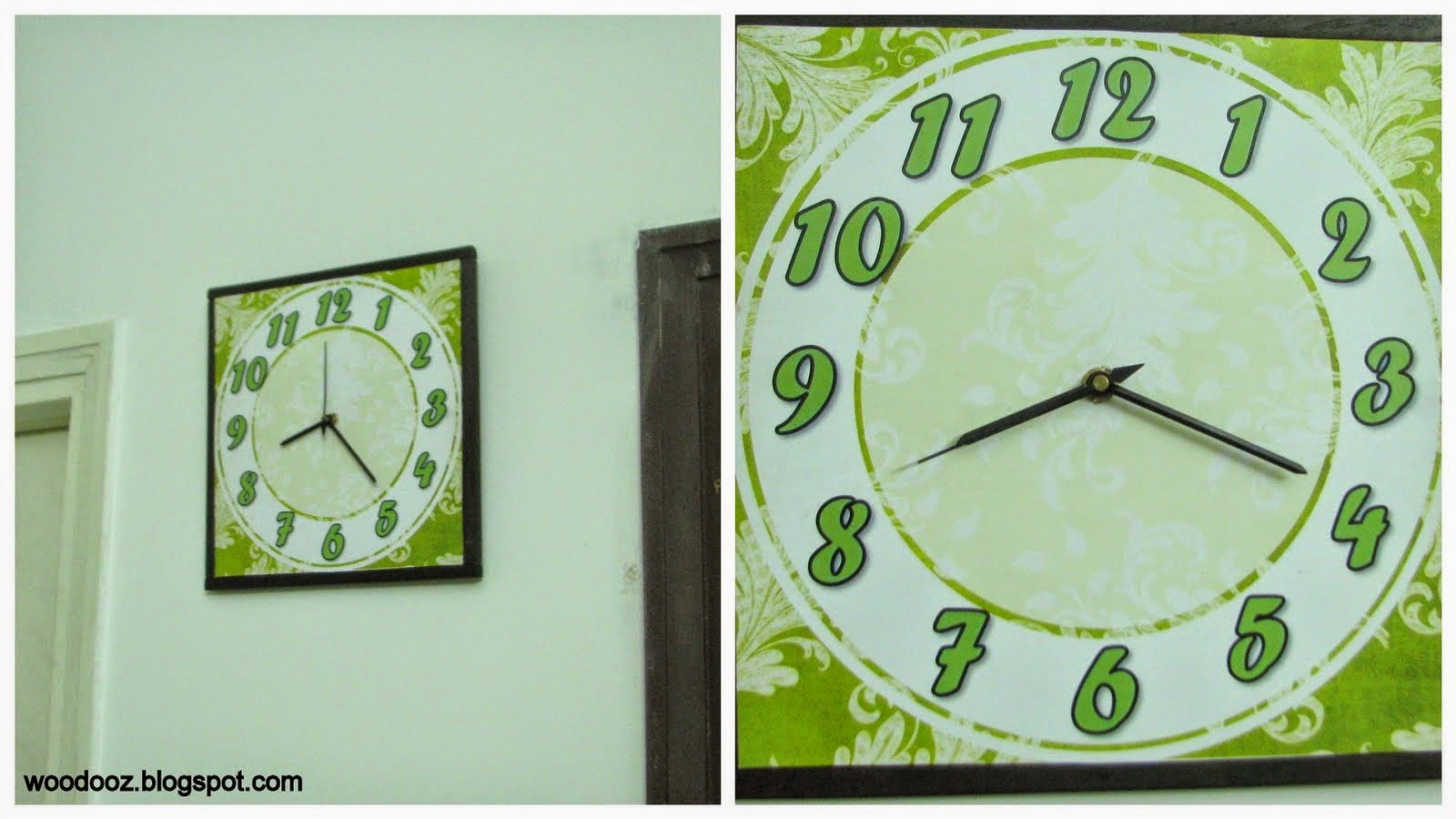 Make your own wall clock