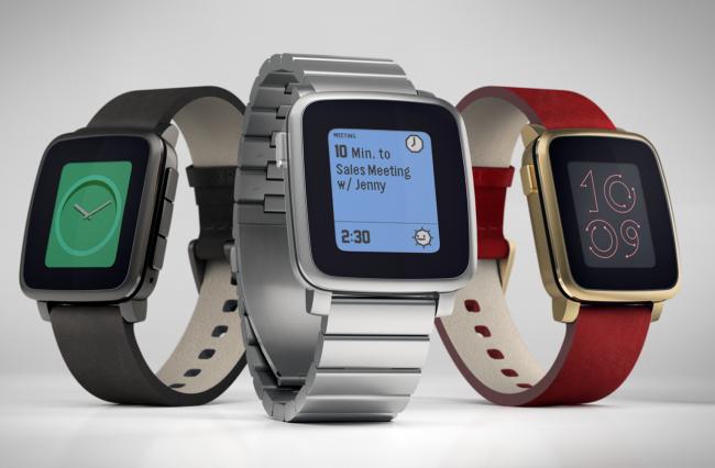Smartwatch Hours Pebble