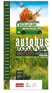 Cartel parada BUS Ecocultura 2012