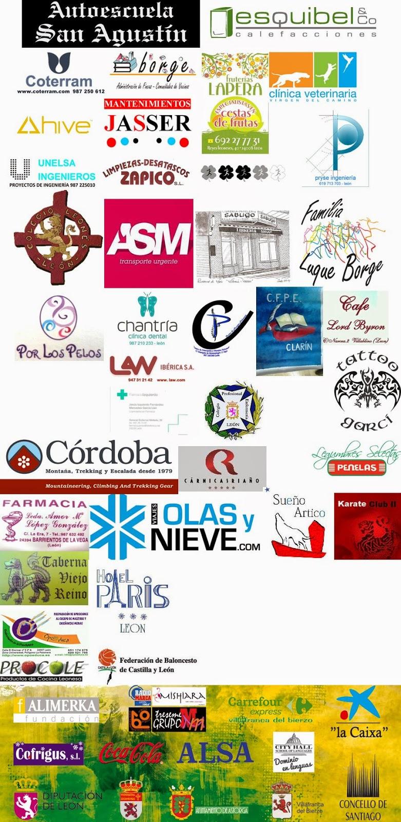 Patrocinadores A Santiago contra el cancer