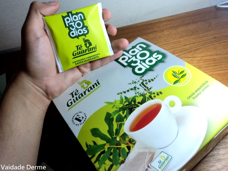 Chá Plan 30 Dias da Té Guarani