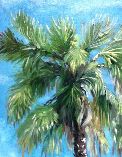 oil painting, k Schifano