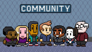 community cast, 8-bit, awesome