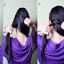 Ponytail Twist Hairstyle Tutorial For School Girls