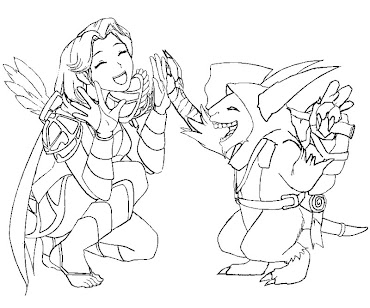 #5 Dota 2 Coloring Page