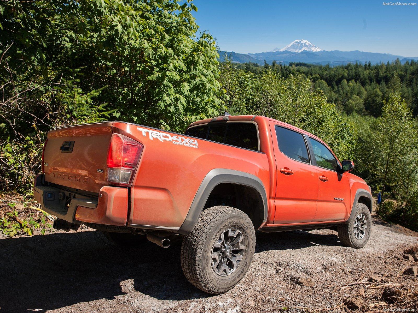 Hình ảnh xe ô tô Toyota Tacoma TRD Off-Road 2016 & nội ngoại thất