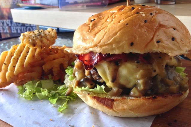 Burger Oriental yang Menggugah Selera
