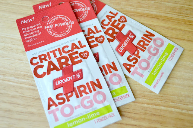 Mommy Testers sending UrgentRx critical care aspirin to my dad from Duane Reade #MyUrgentRx #cbias