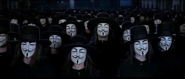 """Las 10 mejores frases de """"V de Vendetta"""", pueblo unido"""