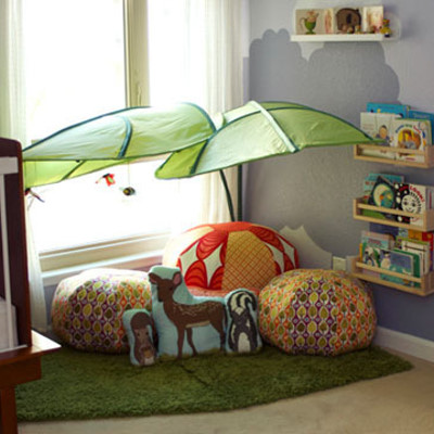 Atelier martina egenter kinderzimmer nr 5 kuschelecke for Kinderzimmer kuschelecke
