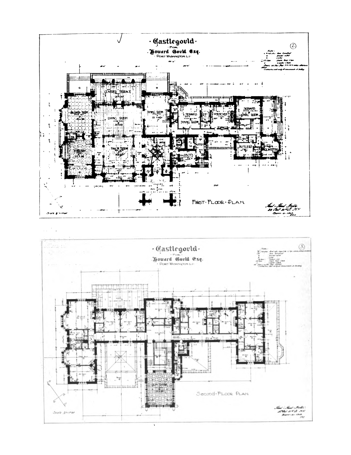 Old long island 39 castlegould 39 39 hempstead house 39 for Long house floor plans