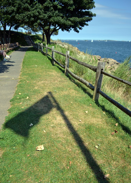 flag shadow fort sewall