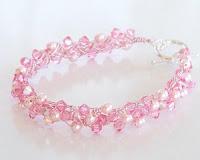 Camellia Wire Crochet Braidlet