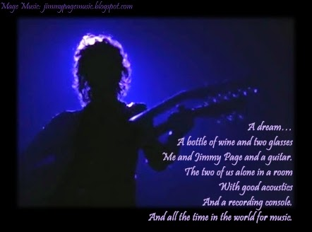 Mage Music: A Dream jimmypagemusic.blogspot.com