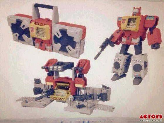 Transformers TITAN WARS Autobot Blaster Headmaster toy leak image