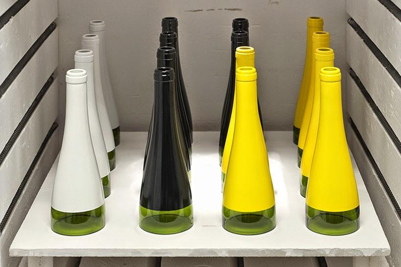Lamparas con Botellas De vidrio Recicladas, Diseño Ecoresponsable