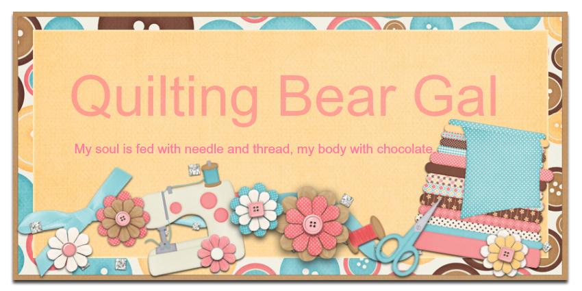 Quilting Bear Gal