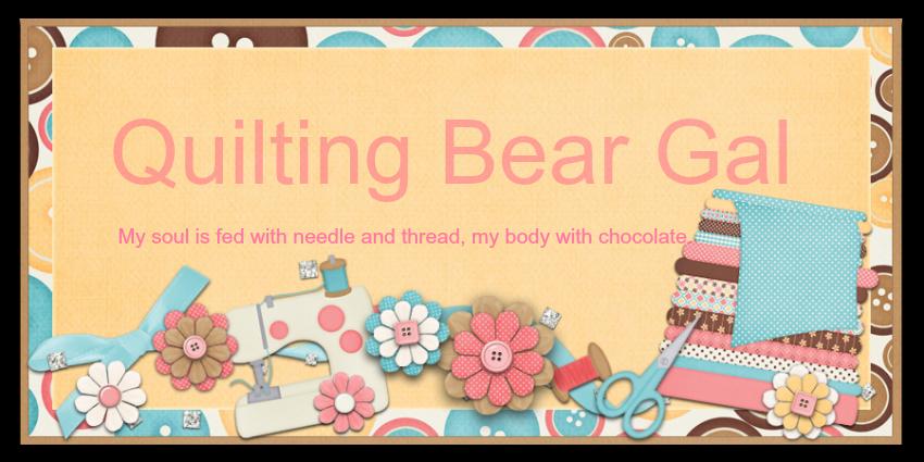 Quilting Bear Gal