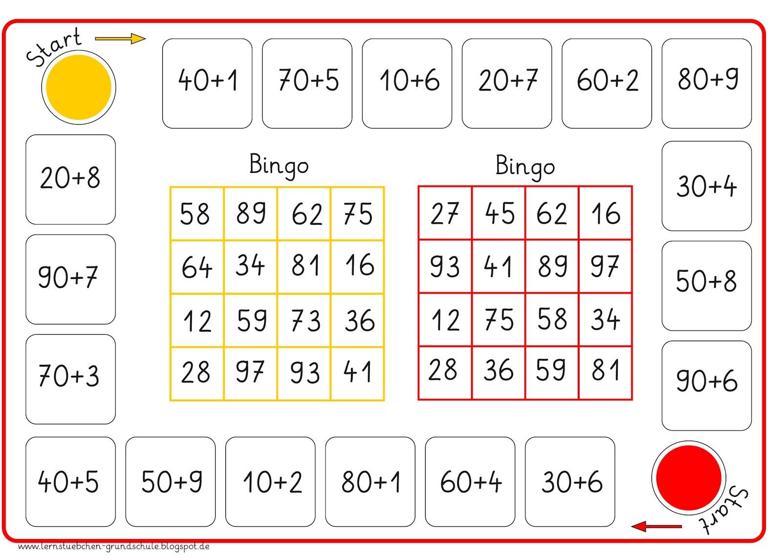 bingo spiele im unterricht